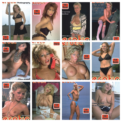 Erotics From The 70s Adult Photo Magazine – Full Year 2020 Issues Collection