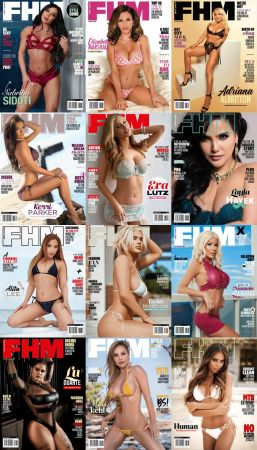 FHM South Africa – Full Year 2020 Issues Collection