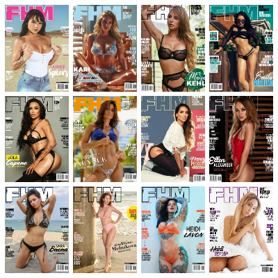 FHM Sweden – Full Year 2020 Issues Collection