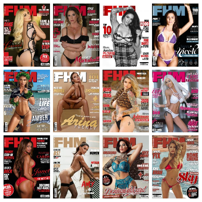 FHM USA – Full Year 2020 Issues Collection