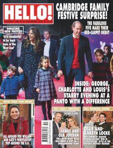 Hello! Magazine UK – 21 December 2020