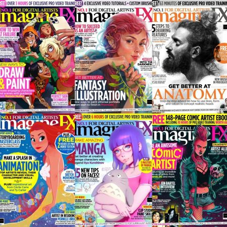 ImagineFX – Full Year 2020 Issues Collection