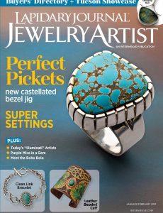 Lapidary Journal Jewelry Artist – January 2021
