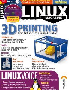 Linux Magazine USA – Issue 242, January 2021