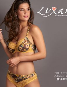 Luxam – Lingerie Collection Autumn-Winter 2018-2019