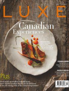 Luxe Magazine Canada – Autumn 2020