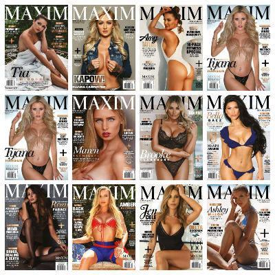 Maxim New Zealand – Full Year 2020 Issues Collection