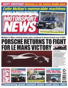 Motorsport News – December 17, 2020