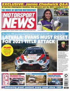 Motorsport News – December 31, 2020