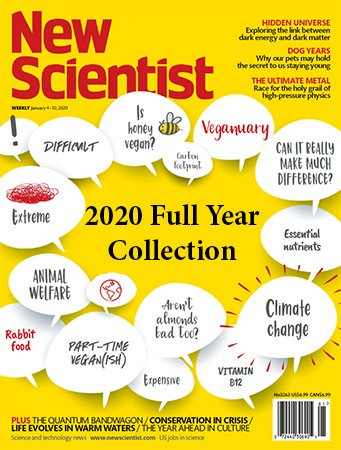 New Scientist – Full Year 2020 Issues Collection