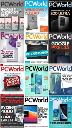 PCWorld – Full Year 2020 Issues Collection