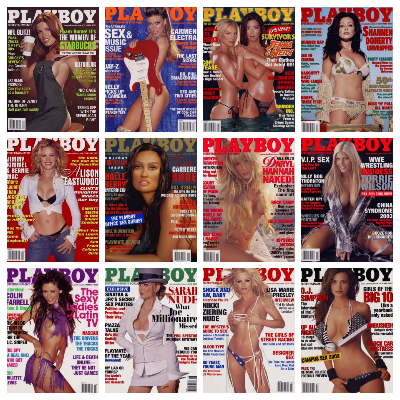 Playboy USA – Full Year 2003 Issues Collection