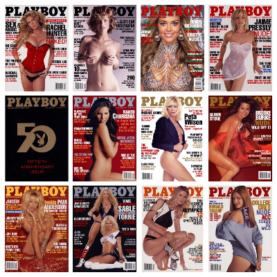 Playboy USA – Full Year 2004 Issues Collection