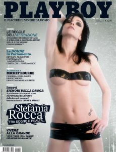 Playboy Italy – Aprile 2009