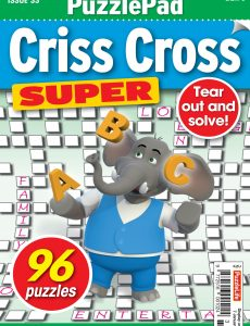 PuzzleLife PuzzlePad Criss Cross Super – 03 December 2020