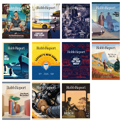 Robb Report USA – Full Year 2020 Issues Collection