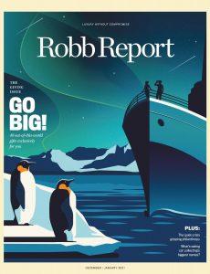 Robb Report USA – December 2020 – January 2021
