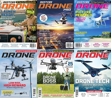 Rotor Drone – Full Year 2020 Issues Collection