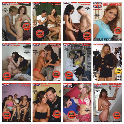Sex Amateurs UK Adult Photo Magazine – Full Year 2020 Issues Collection
