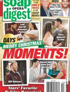Soap Opera Digest – December 28, 2020