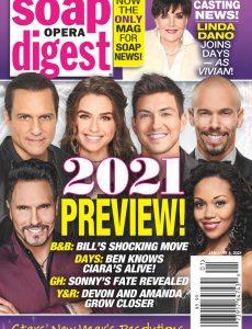 Soap Opera Digest – January 04, 2021