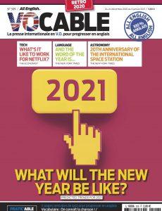 Vocable All English – 24 Décembre 2020