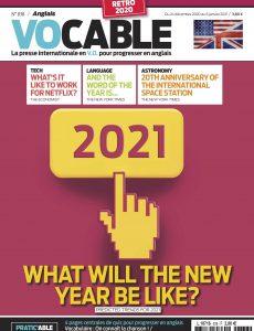 Vocable Anglais – 24 Décembre 2020