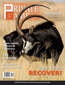 Wildlife Ranching Magazine – November 2020