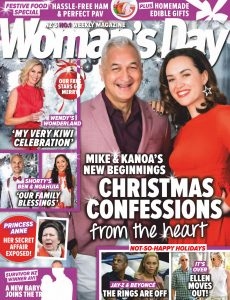 Woman's Day New Zealand – December 07, 2020