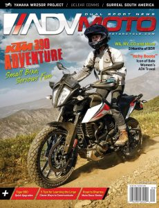 Adventure Motorcycle (ADVMoto) – September-October 2020