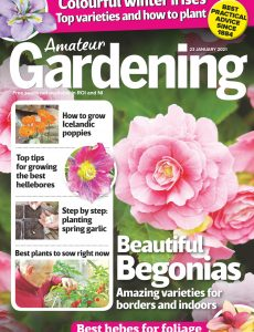 Amateur Gardening – 23 January 2021