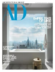Architectural Digest USA – February 2021