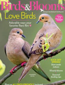 Birds & Blooms – February-March 2021