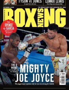 Boxing News – 3 December 2020