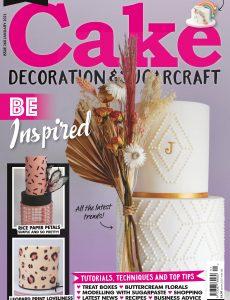 Cake Decoration & Sugarcraft – Issue 268, January 2021