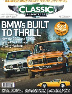 Classic & Sports Car UK – February 2021