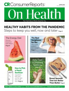 Consumer Reports on Health – August 2020