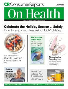 Consumer Reports on Health – November 2020
