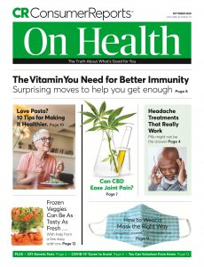 Consumer Reports on Health – October 2020
