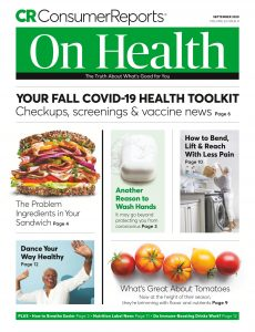 Consumer Reports on Health – September 2020