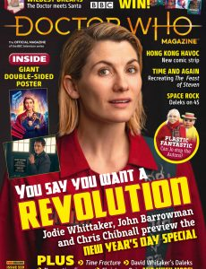 Doctor Who Magazine – Issue 559 – January 2021