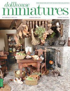 Dollhouse Miniatures – Issue 71 – September-October 2019