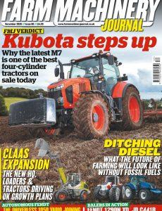 Farm Machinery Journal – December 2020