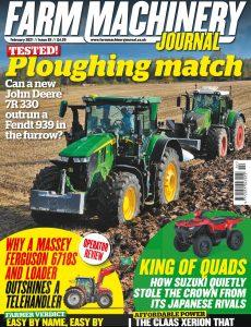 Farm Machinery Journal – February 2021