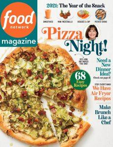 Food Network – January-February 2021