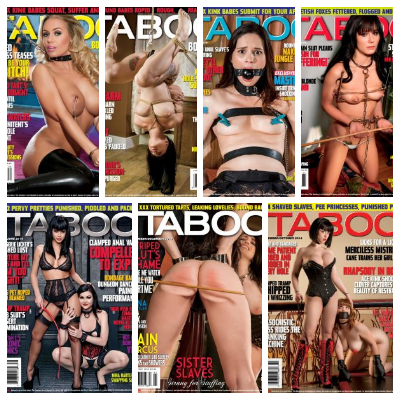 Hustler's Taboo – Full Year 2014 Issues Collection