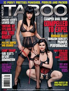 Hustler's Taboo – May-June 2014