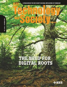 IEEE Technology and Society Magazine – December 2020