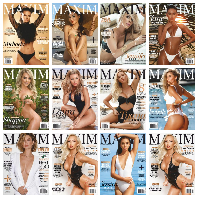 Maxim Australia – Full Year 2020 Issues Collection