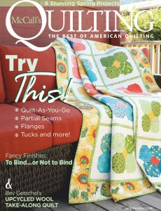 McCall's Quilting – March-April 2021